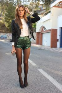 blazer-and-sequined-shorts