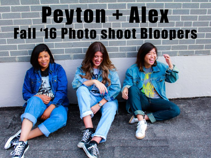 Fashion Photo Shoot Bloopers