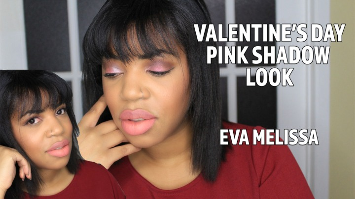 Holographic Pink Eyeshadow Look – Valentine's Day