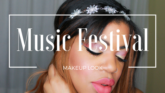 Music Festival Inspired Makeup