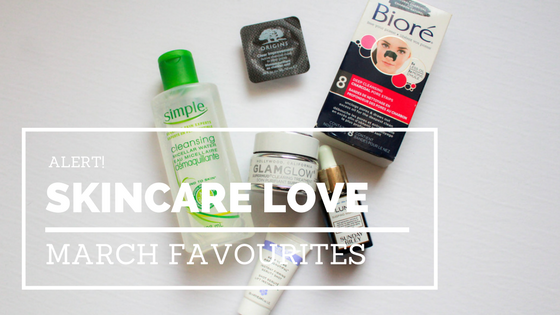 March Skincare Faves