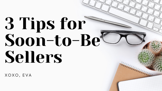 A Beginner's View: 3 Tips for Soon-to-beSellers
